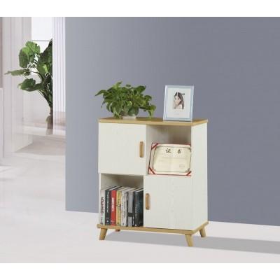 书柜书架简约现代省空间带门书橱学生自由组合多功能置物柜收纳柜