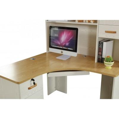 简易台式电脑桌书桌书架组合家用多功能创意写字台写字桌