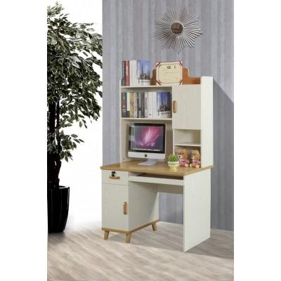 书桌家用电脑桌书柜台式经济型桌子宜家简约桌写字书桌一体家用桌
