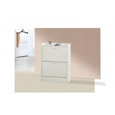 简约现代白色超薄翻斗鞋柜入户门厅柜玄关进门简易鞋架门口储物柜