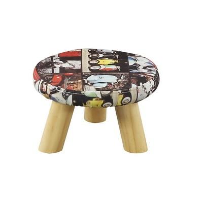 时尚实木小凳子家用创意客厅板凳  圆凳换鞋凳沙发凳迷你矮凳