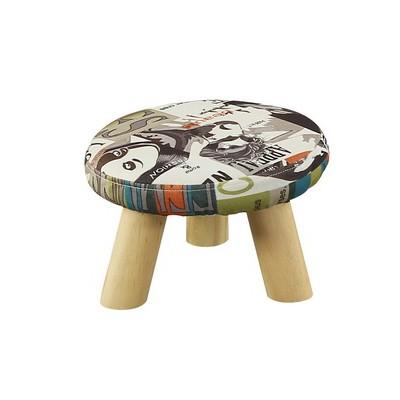 实木小凳子时尚圆凳矮创意换鞋凳家用沙发凳成人小椅子布艺小板凳