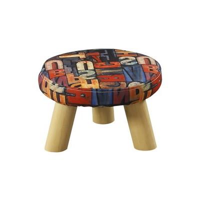 布艺沙发凳时尚蘑菇凳家用凳子板凳椅子凳子矮凳换鞋凳创意可拆洗