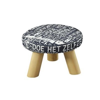 凳子实木小矮凳时尚创意蘑菇凳儿童穿鞋凳坐墩布艺小软板凳