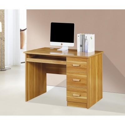 全实木儿童书柜书桌一体地中海多功能家用卧室写字台书桌书架组合