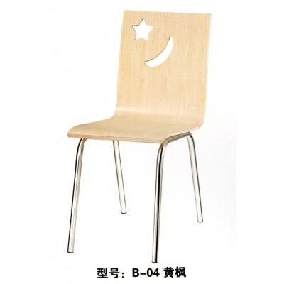 快餐桌椅餐馆饭店面馆桌椅肯德基KFC款椅简约君发家具