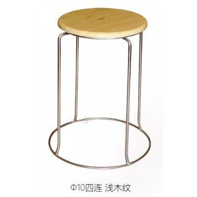 加厚钢筋凳可叠放凳子时尚家用餐凳铁凳地毯凳铁圆凳鑫宝登业