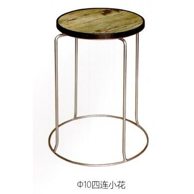 加厚钢筋凳可叠放凳子时尚家用餐凳铁凳地毯凳鑫宝登业