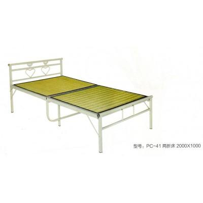 家用简易便捷折叠午休床便携午憩宝旅行夏天双人竹板床鹏程床业