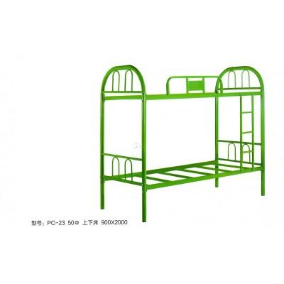 经济型铁床双层床上下铺宿舍学生上下床鹏程床业