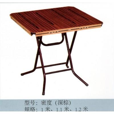 折叠餐桌方圆桌麻将桌饭桌聚会餐桌酒店折叠两用方圆桌新鹏家具