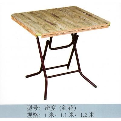 折叠圆桌子折叠酒店餐桌饭桌实木方桌大圆桌靠边站 竹新鹏家具