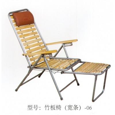 阳台椅折叠椅午休椅躺椅办公室椅沙滩椅加固藤新鹏家具