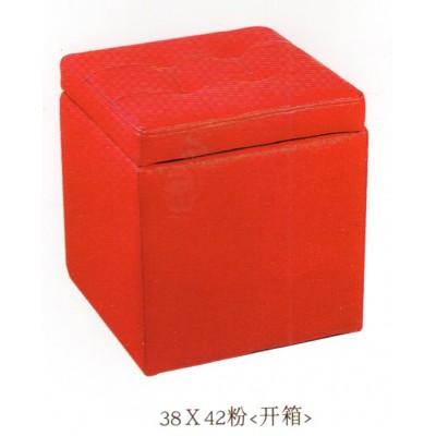 收纳小凳子储物皮凳约客厅换鞋矮凳方凳布艺矮墩子凳华阳家具