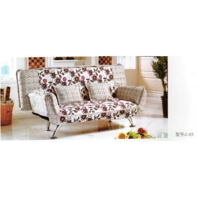 沙发床折叠 简约现代 欧式可拆洗贵妃多功能沙发床华阳家具