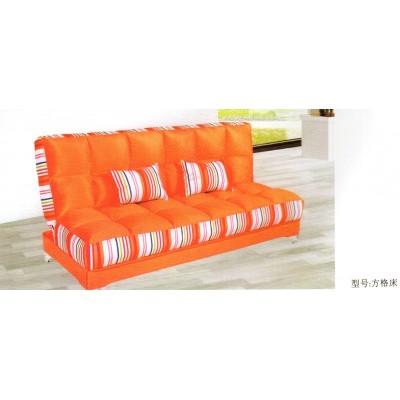北欧式实木沙发床可折叠客厅两用三人小户型多功能沙发华阳家具
