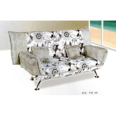 可折叠单人双人三人小户型多功能迷你布艺沙发床华阳家具