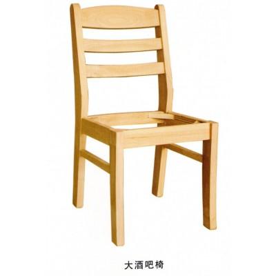 全实木椅子家用客餐厅木椅子电脑椅办公书桌椅酒店餐椅博超木业