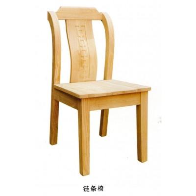 全实木椅子白胚餐厅家用中式餐椅白茬椅子博超木业