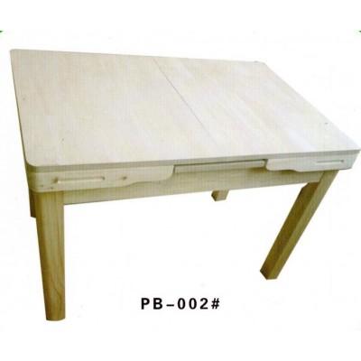 餐桌椅凳家用经济小户型长方形实木四人餐厅松木吃饭桌子澎渤木业