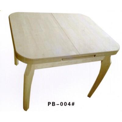 实木餐桌椅组合可伸缩餐桌实木小户型长方形橡木伸缩餐桌澎渤木业