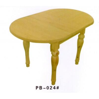 美式乡村实木餐桌简易风格可折叠可大可小简约橡木餐桌澎渤木业