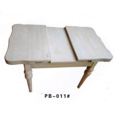 小户型实木餐桌组合简约现代小桌子家用伸缩折叠吃饭桌澎渤木业