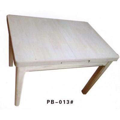 简约北欧实木餐桌伸缩折叠橡木餐桌椅组合小户型正方形澎渤木业