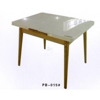 北欧实木餐桌多功能可伸缩烤漆简约现代小户型钢化玻璃澎渤木业