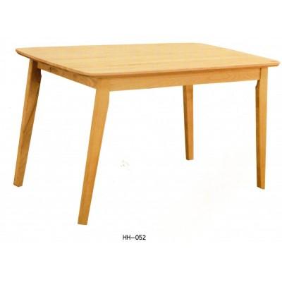 北欧实木家用椅餐桌现代简约原木小户型全实木餐台北欧风海汇木业