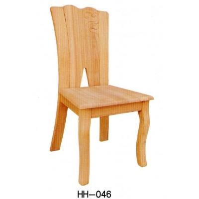 中式安东木餐椅白坯实木白胚白茬家具家用白茬靠背椅子海汇木业