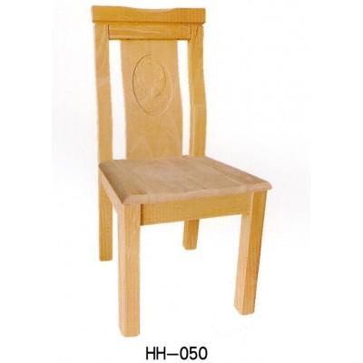 全实木餐椅家用中式仿古橡木餐椅靠背椅饭店实木椅子海汇木业