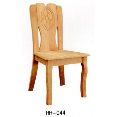全实木餐椅酒店家具白色靠背休闲椅橡木餐厅餐桌椅子海汇木业