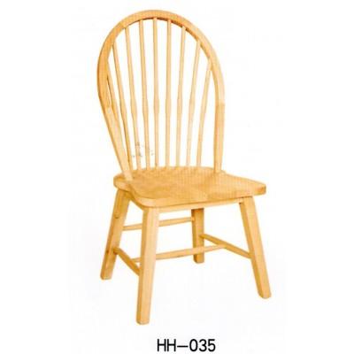 北欧美式经典实木温莎椅 家用靠背餐椅餐厅餐椅咖啡厅椅海汇木业