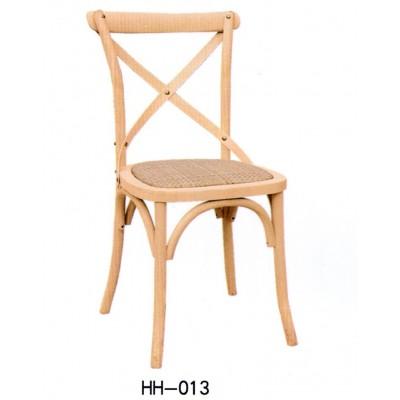 美式现代餐椅会所餐椅 休闲实木家用咖啡馆餐厅靠背椅子海汇木业