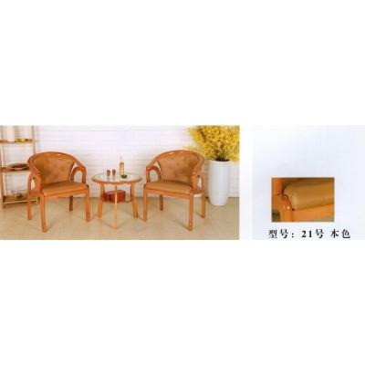阳台桌椅三件套装组合休闲三件套实木桌椅茶几小圆桌子卫戍家具