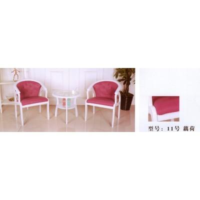 围椅实木 围椅单人 围椅三件套 围椅沙发围椅小圆茶几卫戍家具