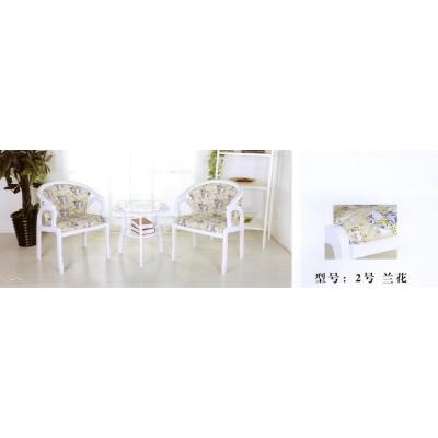 家用欧式餐桌椅组合三件套扶手椅餐桌圆桌咖啡桌卫戍家具