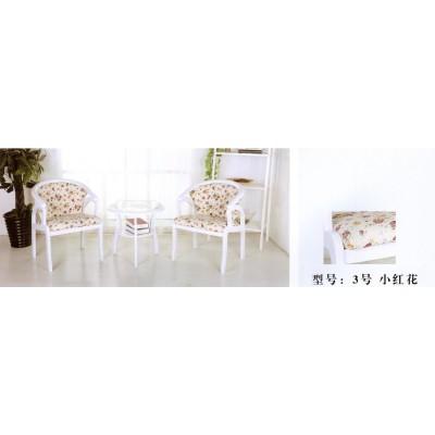 休闲椅子围椅圈椅迷你欧式卧室茶几三件套实木阳台桌椅卫戍家具