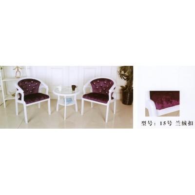 阳台桌椅三件套现代简约组合休闲北欧庭院旅馆茶几卫戍家具