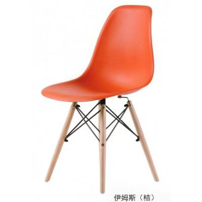 家用靠背时尚凳子伊姆斯创意书桌休闲椅子电脑椅洽谈餐椅简约现代