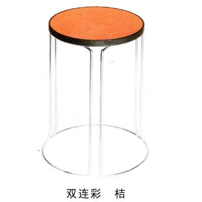 加厚钢筋凳可叠放凳子时尚家用餐凳铁凳地毯凳铁圆凳子实木凳