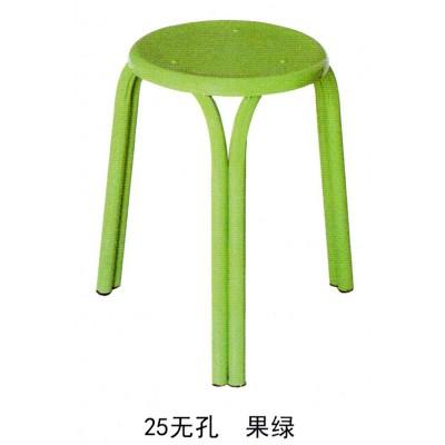 简约椅子圆凳家用餐凳现代凳餐桌凳板凳塑料换鞋凳折叠