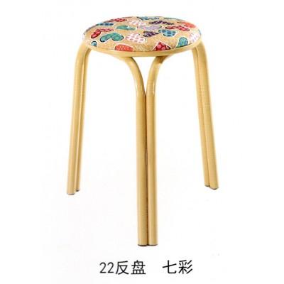 圆凳方凳餐桌餐厅凳子换鞋凳简约地毯凳叠放凳子海林家具