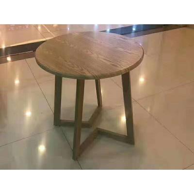 桌子商用饭店餐厅快餐长方形早餐奶茶店经济型甜品店桌椅小圆方桌